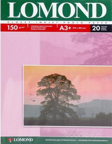 Фотобумага LOMOND Глянцевая А3+ 150 г/кв.м. 20 листов (0102026)