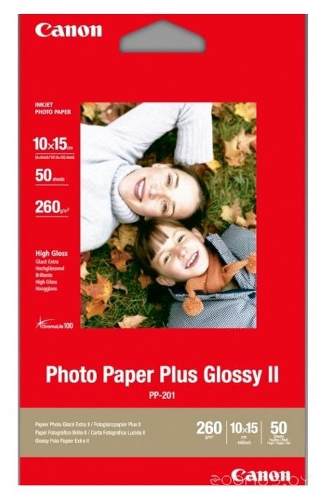 Фотобумага Canon Photo Paper Plus Glossy PP-201 10x15 260 гм2 50 л (2311B003)
