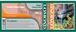 Фотобумага LOMOND XL Matt Paper 1067 мм х 50.8 м 105 г/м2 (1202053)