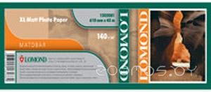 Фотобумага LOMOND XL Matt Paper 1067 мм х 50.8 м 140 г/м2 (1202083)