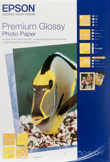 Фотобумага Epson Premium Glossy Photo Paper 13x18 50 листов (C13S041875)
