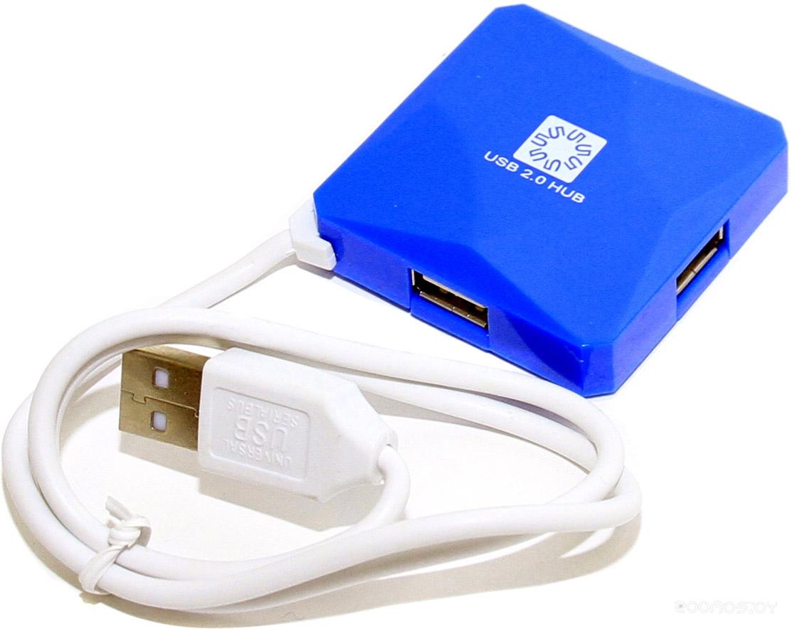 USB-хаб 5bites HB24-202BL