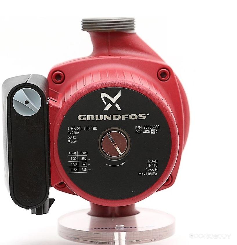 Циркуляционный насос Grundfos UPS 25-100 180