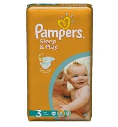 Pampers Sleep&Play 3 Midi (58 шт)