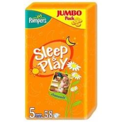Pampers Sleep&Play 5 Junior Jumbo Pack (58 шт)