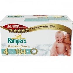 Pampers premium care 4 Maxi (104 шт)