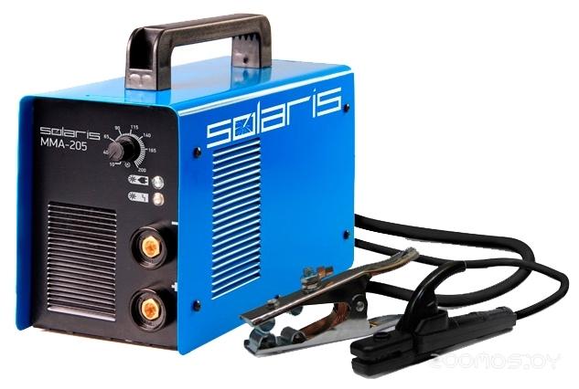 Сварочный инвертор Solaris MMA-205 + ACX