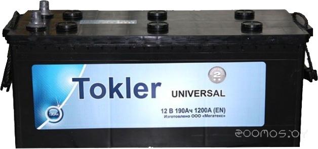 Автомобильный аккумулятор Tokler Universal 190 (А·ч)