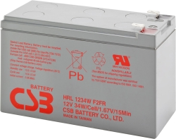 CSB HRL1234W F2 (12В/9 А·ч)