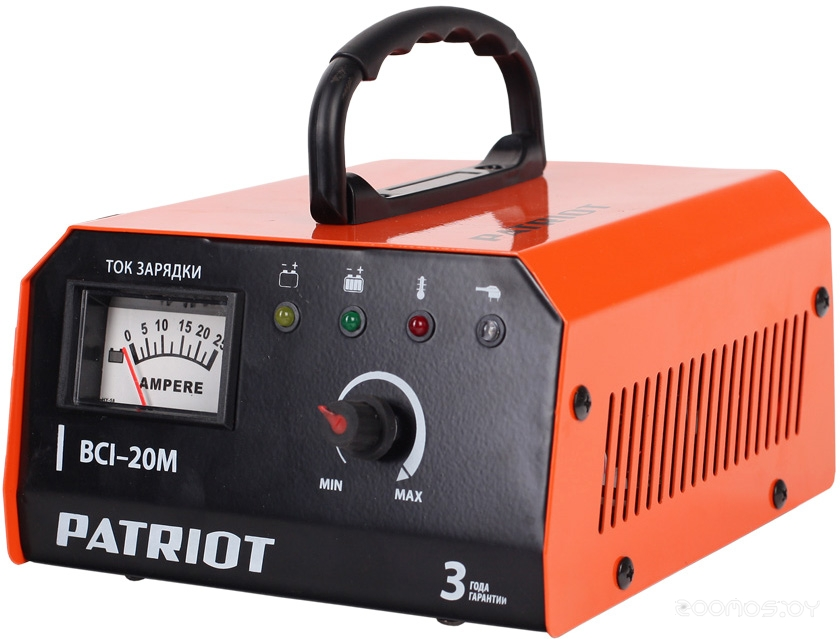 Пуско-зарядное устройство Patriot BCI-20M