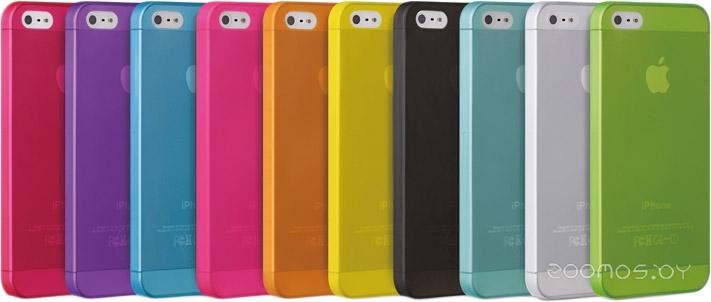 Чехол Ozaki O!coat-0.3-Jelly для iPhone 5/5S