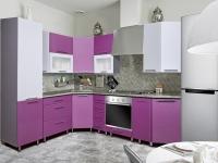 Кухня Интерлиния Metrio Д2.3 ПВХ металлик