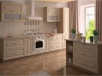Кухня Интерлиния Metrio Д5.1 МДФ краска