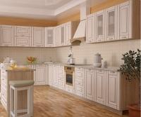 Кухня Интерлиния Metrio Д3.2 МДФ краска патина
