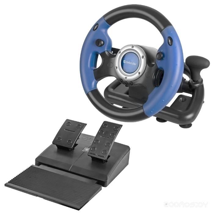 Проводной руль Defender Challenge Turbo GT