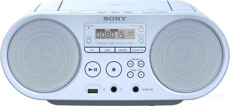 Магнитола Sony ZS-PS50 Blue