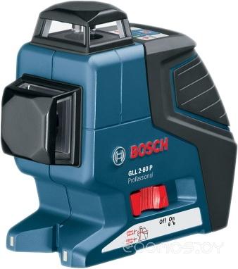 Bosch GLL 2-80 P (с держателем BM 1 и приемником LR 2) [0601063209]