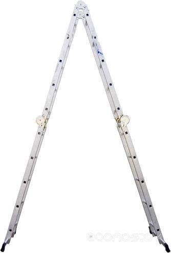 Лестница-трансформер Алюмет 4-х секционная Т 445 2х4+2х5