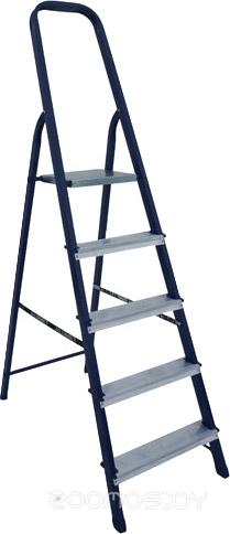 Лестница-стремянка Алюмет cтальная из профиля 40х20мм M8410