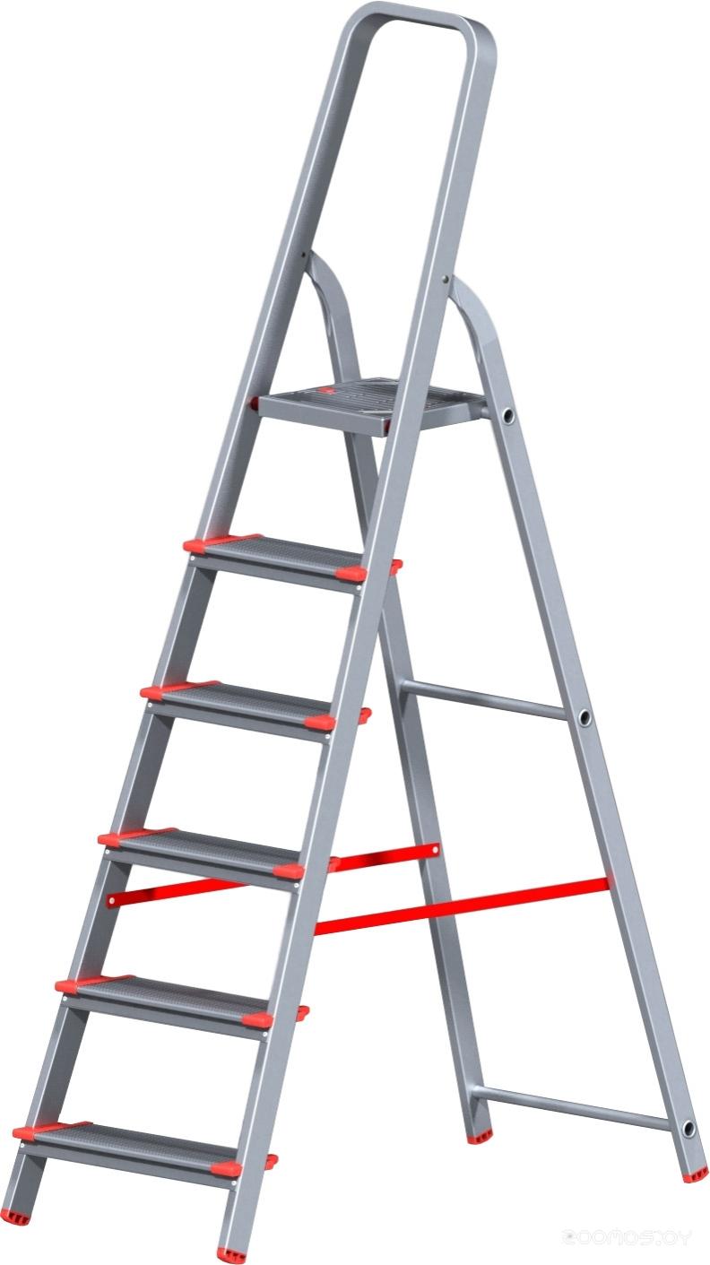 Приставная лестница Новая Высота NV 511 алюминиевая индустриальная 6 ступеней (5110106)