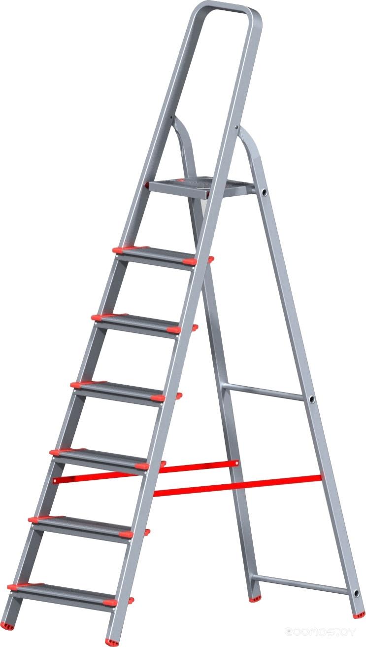 Лестница-стремянка Новая Высота NV 511 алюминиевая индустриальная 7 ступеней (5110107)