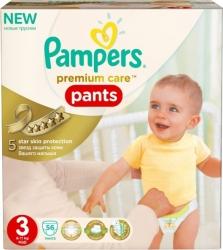 Pampers Premium Care Pants 3 Midi (56 шт)