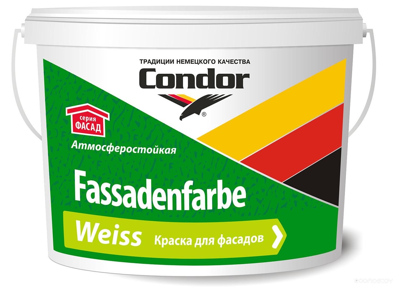 Краска Condor Fassadenfarbe Weiss 15 кг
