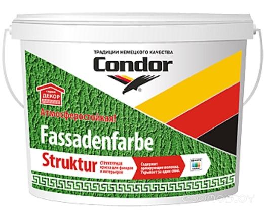 Краска Condor Fassadenfarbe-Struktur 15 кг