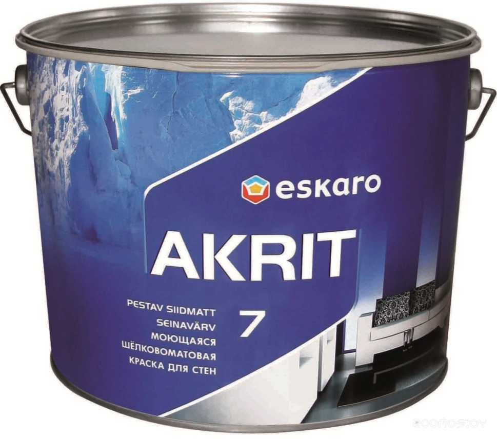 Краска Eskaro Akrit 7 9.5л