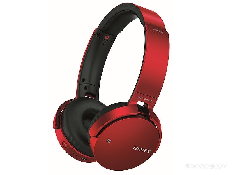 Bluetooth-гарнитура Sony MDR-XB650BT (Red)