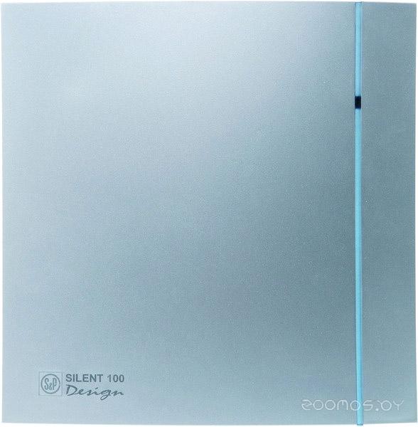 Вытяжная вентиляция Soler & Palau Silent-100 CHZ Silver Design [5210602800]