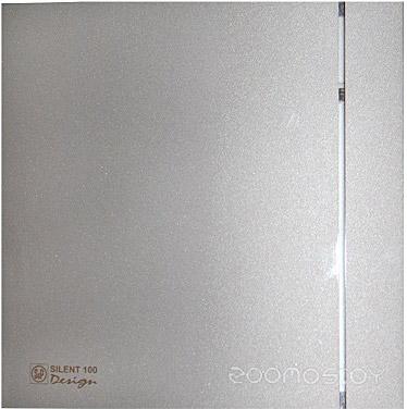 Вытяжная вентиляция Soler & Palau Silent-100 CRZ Silver Design - 3C [5210603500]
