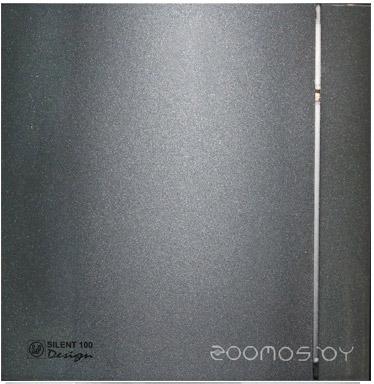 Вытяжная вентиляция Soler & Palau Silent-100 CZ Grey Design - 4C [5210607300]