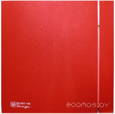 Вытяжная вентиляция Soler & Palau Silent-100 CZ Red Design - 4C [5210611800]