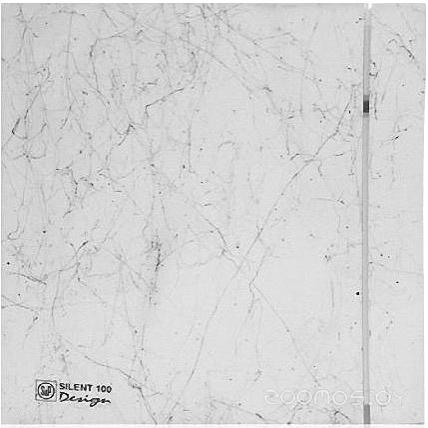 Вытяжная вентиляция Soler & Palau Silent-100 CZ Marble White Design - 4C [5210612000]