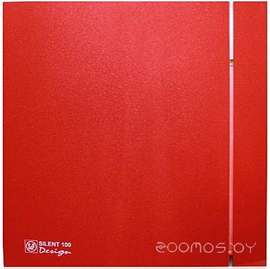 Вытяжная вентиляция Soler & Palau Silent-200 CZ Red Design - 4C [5210616800]