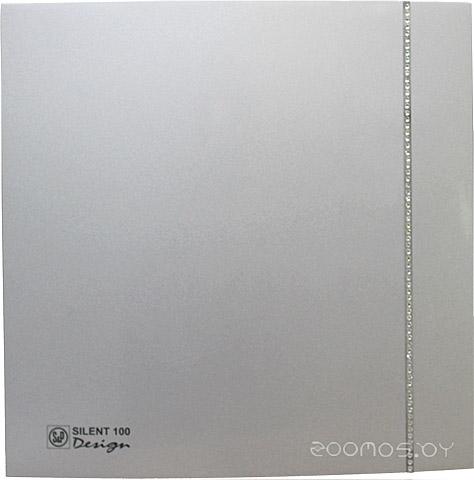 Вытяжная вентиляция Soler & Palau Silent-100 CZ Silver Design Swarowski [5210622400]