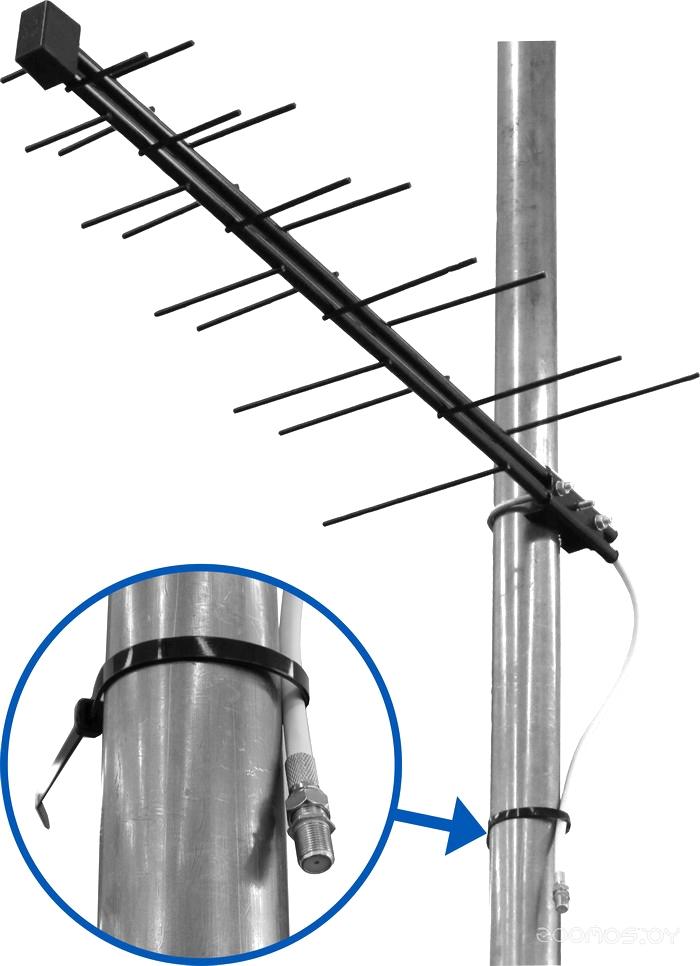 ТВ-антенна Дельта Н111-02 С F-Коннектором