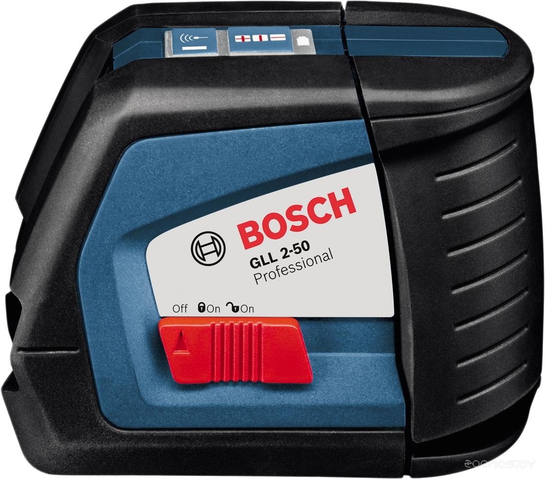 Bosch GLL 2-50 (с держателем BM 1 и приемником LR 2) [0601063109]