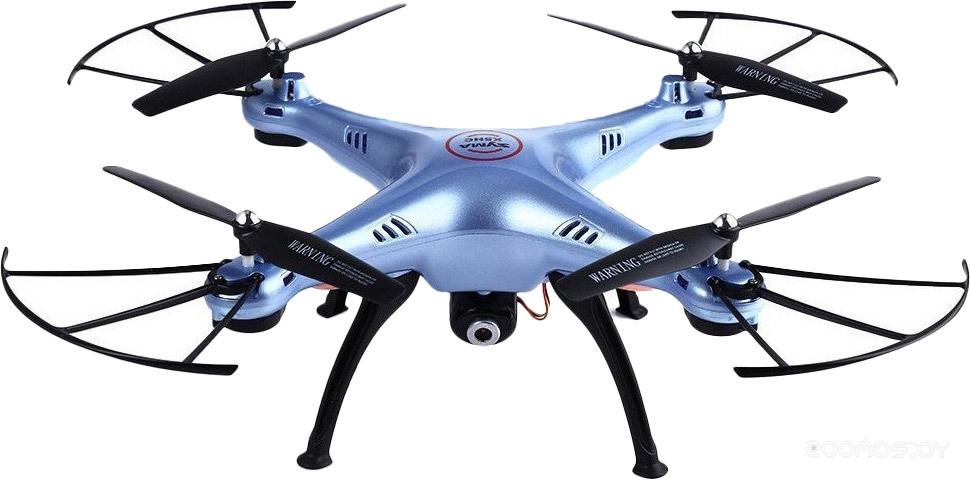 Квадрокоптер Syma X5HC (голубой)