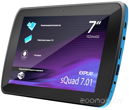Планшет Explay sQuad 7.01 (Blue)