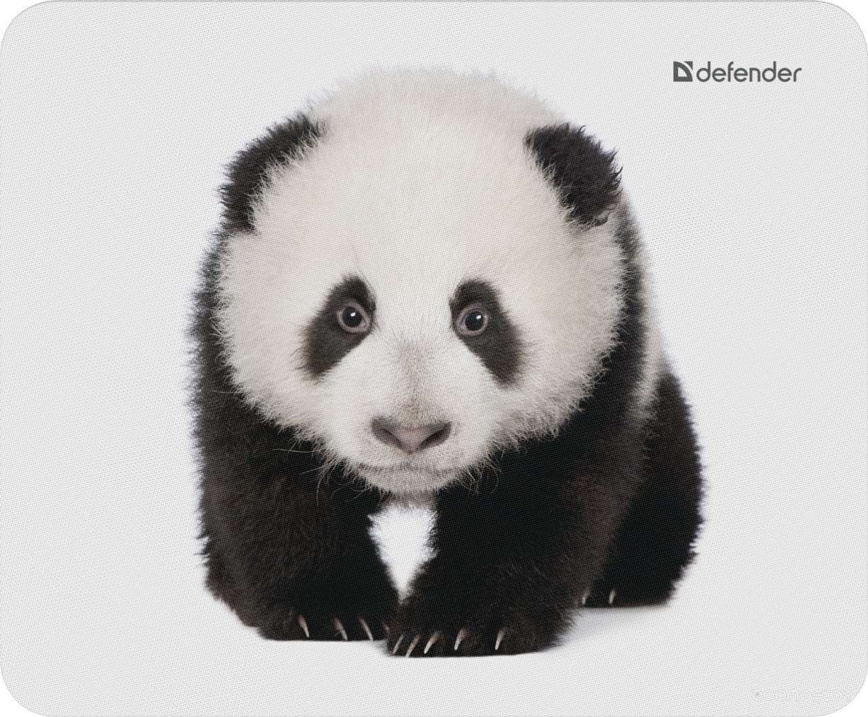 Коврик для мыши Defender Wild Animals Панда [50803]