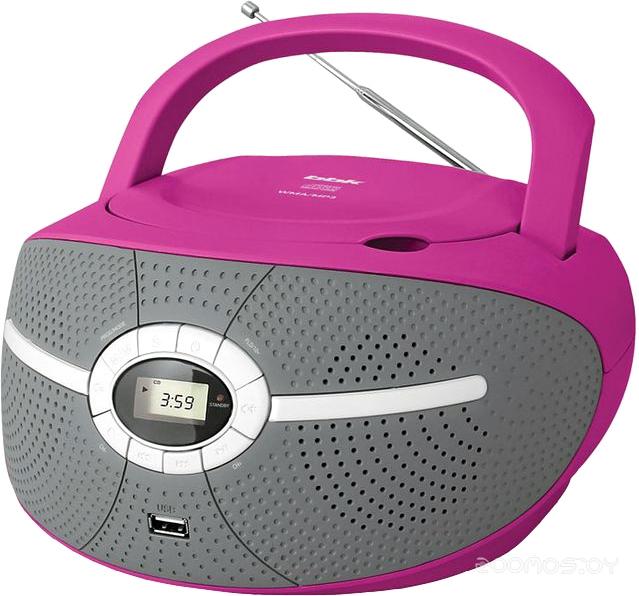 Магнитола BBK BX195U (Pink)