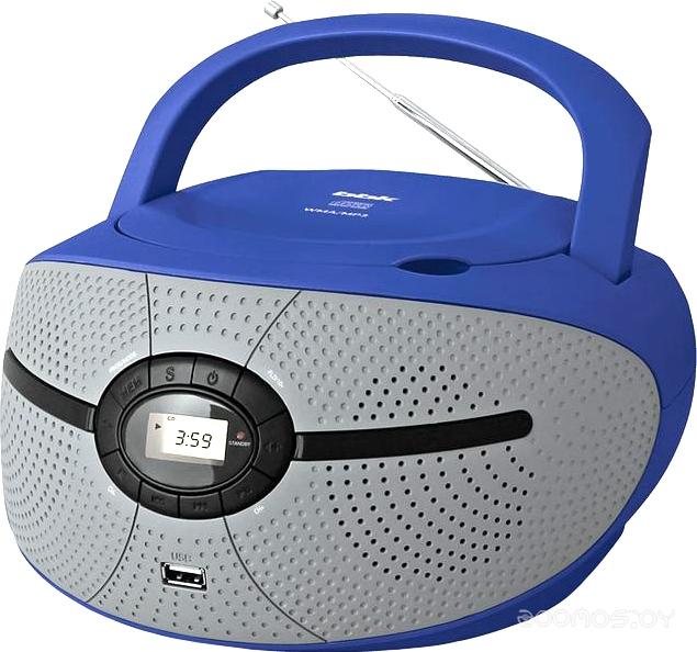 Магнитола BBK BX195U (Blue/Grey)
