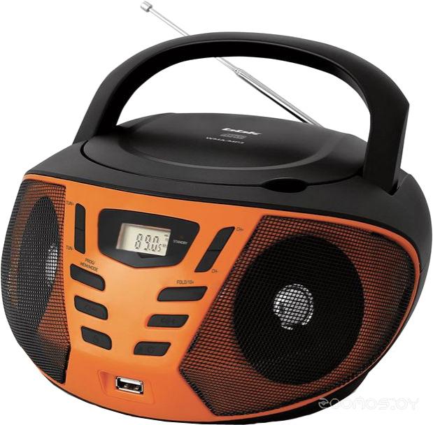 Магнитола BBK BX193U (Black/Orange)