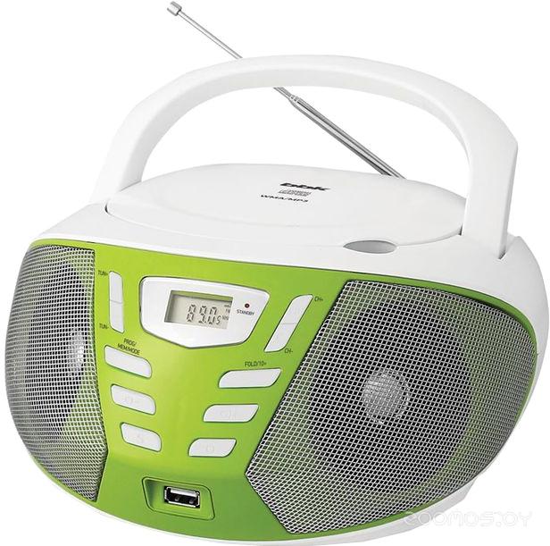Магнитола BBK BX193U (White/Green)