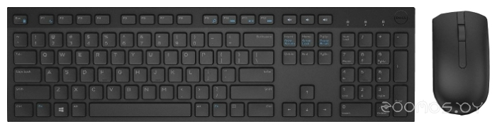 Клавиатура + мышь DELL KM636 Wireless Keyboard and Mouse Black USB