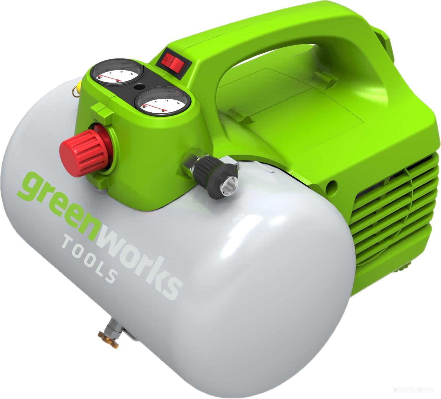 Компрессор Greenworks GAC6L [4101302]