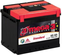 A-mega Standart 60 R (60 А·ч)