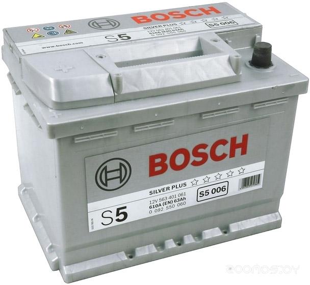 Автомобильный аккумулятор Bosch S5 092 S50 060 (63 А·ч)